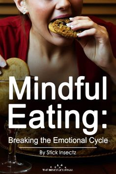 Mindful Eating: Breaking the Emotional Cycle - themindsjournal. Mindfulness For Beginners, Mindfulness Techniques, Mindfulness Exercises, Mindfulness Activities, Mindfulness Meditation, Wellness Fitness, Health And Wellness, Health Fitness, Cycling Workout