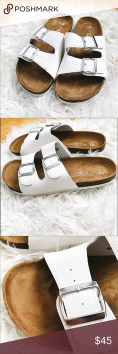 Atmosphere (Birkenstock look-alike) Sandals Unworn!! In white Birkenstock Shoes Sandals