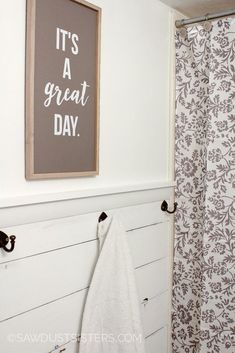 DIY Plywood Shiplap Wall by Sawdust Sisters Featured On @Remodelaholic