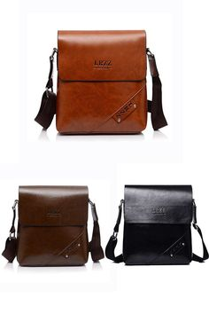 Waxy Leather Men s Crossbody Bag de30352d5b63b