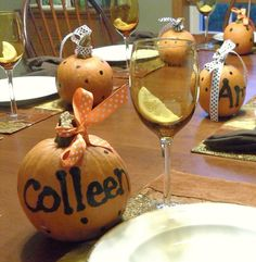 images of ladies fall luncheon table - Google Search