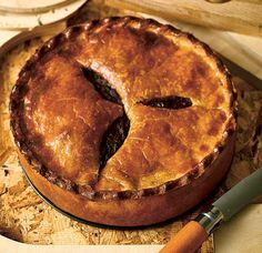 Steak and ale pie recipe: Bake Off 2014 finalist Richard Burr gives his classic pie recipe as the six remaining bakers tackle game pies in Victorian Week