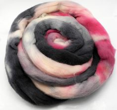 Paris At Last Spinning Fiber - Hand Dyed Roving - Combed Top - Dyed to Order