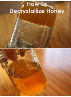 How To Decrystallize Honey