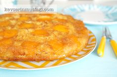 Apricot Upside Down Cake Recipe - Turkish Style Cooking Turkish Style, Turkish Fashion, Turkish Recipes, Ethnic Recipes, Caking It Up, Ground Almonds, Macaroni And Cheese, Cake Recipes, Caramel