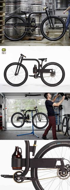The Growler City Bike concept by industrial designer Joey Ruiter