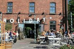 Holiday restaurant in Helsinki with terrace.