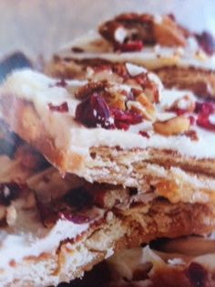 Oven recipes done right: White Chocolate Cranberry Toffee Oven Recipe