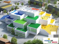 The LEGO House - Home of the Brick, located at the centre of Billund (Denmark) will allow LEGO fans of all ages to feel the magic of the LEGO universe and have the ultimate LEGO experience all year…