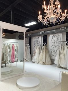 Commercial Interior Design, Commercial Interiors, Bridal Boutique Interior, Bridal Shops, Retail Shelving, Alcoves, Mobile Boutique, Showroom Design, Shop Interiors