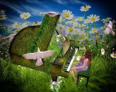 ❀ Perfectly Petals ❀ : ~A Hidden Piano!~