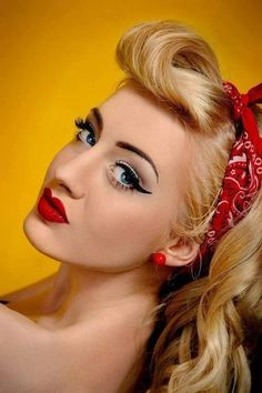 "a ""classic"" Rockabilly look. Sweetttt!!! More"