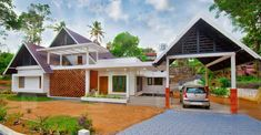cute-house-naranganam Simple House Plans, Home Budget, Cute House, Kerala, House Tours, How To Plan, Architecture, House Styles, Arquitetura
