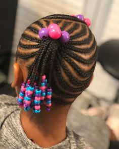 Jordyn the birthday girl! Toddler Braided Hairstyles, Cute Little Girl Hairstyles, Little Girl Braids, Baby Girl Hairstyles, Natural Hairstyles For Kids, Braids For Kids, Girls Braids, Natural Hair Styles, Kid Braid Styles
