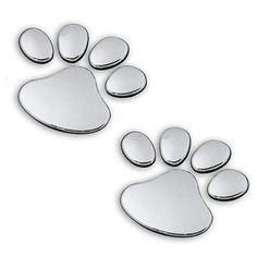 2pcs pet animal paw #footprints #emblem car truck decor 3d #sticker decal popular, View more on the LINK: http://www.zeppy.io/product/gb/2/201567525070/