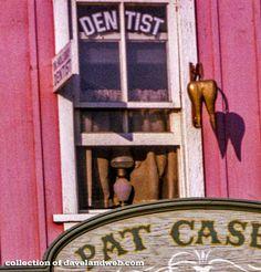 Even Disneyland has a dentist.