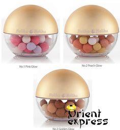 Holika Holika - Mineral Aura Bijou, Harga: Rp177.000, pilihan warna :  -peach glow  -pink glow  -gold glow