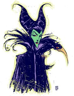Maleficent by Skottie Young