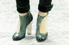 Chanel, Fall 2012 #shoes #heels