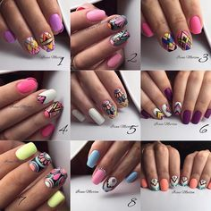 883 вподобань, 63 коментарів – Маникюр / Ногти / Мастера (@nail_art_club_) в Instagram: «Геометрия от Ирины Мартен @nails_irinamarten , девочки только один номер я знаю это не возможно…»