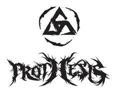 Prothesis Death Metal Band Logo Design
