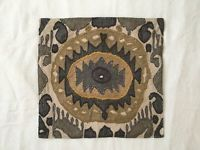 """Pottery Barn Nadia Ikat 20"""" embroidered pillow cover - 4 available"""