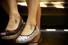 Super Feminine Ankle Tattoo Examples