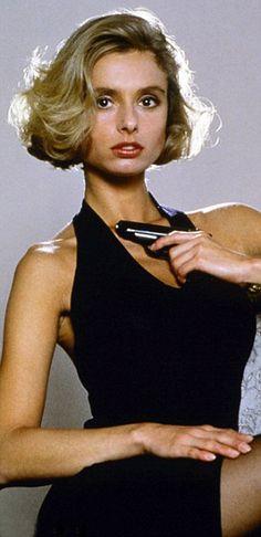 Maryam d'Abo plays Kara Milovy from THE LIVING DAYLIGHTS, 1987
