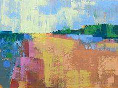 "Beach II"" Original oil landscape on canvas 16"" x 12"" x 1""(40.6cm x 30.5cm x 2.54cm)"