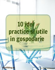 10 idei practice si utile in gospodarie Home Hacks, Shades Of Purple, How To Get Rid, Diy And Crafts, Healing, Herbs, House Design, Personal Care, Shake