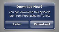 To iTunes σου δίνει τη δυνατότητα να κατεβάσεις τα βίντεο και τη μουσική σου «αργότερα» - Όσοι διαθέτετε συσκευές iOS ή γενικώς κάνετε τα «ψώνια» σας σε βίντεο, ταινίες και μουσική μέσω του iTunes, έχετε τώρα την δυνατότητα να αγοράζετε το περιεχόμενο που... - http://www.secnews.gr/arch