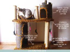 Arranhador Castelo - Pesquisa Google