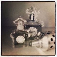 L'Heure Bleue pour chasser le blues. #parfum du soir #Guerlain #scent of the night
