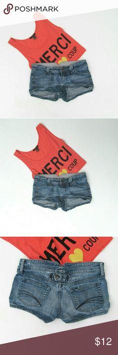 SALE Decree Denim Jeans Shorts Size 3 I offer bundle discounts :) Decree Jeans