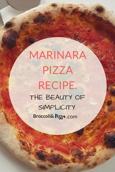 The Marinara pizza is the proof that the most beautiful things in life are the simplest! I've been willing to write a recipe for amarinara pizza for a while but I wasn't sure about it, this is another extremely famous pizza in Napoli, my hometown, my insecurity where probably about the fact that it is...Read More Pizza And More, How To Make Pizza, Best Pizza Dough, Good Pizza, Pizza Recipes, My Recipes, Broccoli Pizza, Best Homemade Pizza, Food Mills