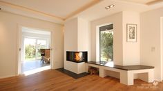 Modern fireplaces - water-bearing fireplaces - in Munich and all Bavaria, Oberbayern