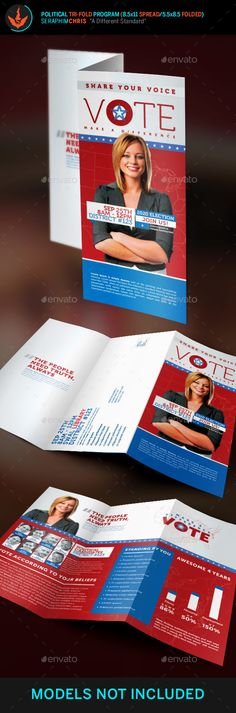 Enemy Political Attack Mailer Template Print-templates Flyers - political brochure