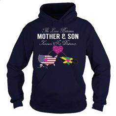 THE LOVE BETWEEN MOTHER AND SON - United States Jamaica - #long #t shirt websites. CHECK PRICE => https://www.sunfrog.com/States/THE-LOVE-BETWEEN-MOTHER-AND-SON--United-States-Jamaica-130936602-Navy-Blue-Hoodie.html?id=60505
