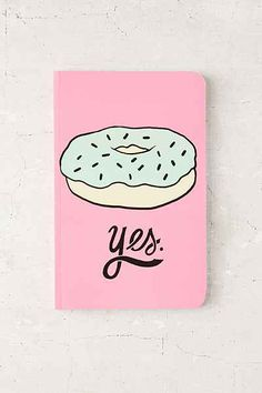 Donut Notebook - Urban Outfitters