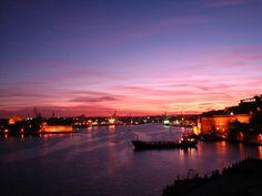 Harbour sunset in Malta │ #VisitMalta visitmalta.com