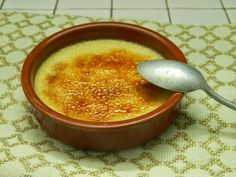 Crème brûlées sans plv à la noix de coco.