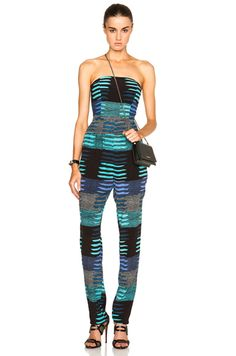 Shop for Mara Hoffman Strapless Jumpsuit in Connector Blue at FWRD. Free 2 day shipping and returns. Strapless Jumpsuit, Mara Hoffman, Playsuit, Rompers, Fashion Tips, Fashion Design, Style Inspiration, My Style, Blue