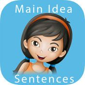 Main Idea - Sentences: Reading Comprehension Skills & Practice Game for Kids -  Common Core Aligned by Janine Toole
