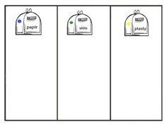 Pro Šíšu: Pracovní listy POZNÁNÍ Paper Birds, English Vocabulary, Science Projects, Earth Day, Recycling, Preschool, Classroom, Education, Green Day