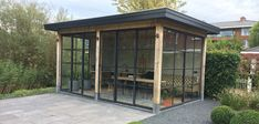 Sheds, Garden Inspiration, Tiny House, Gazebo, Spa, Home And Garden, Exterior, Kiosk, Backyard Sheds