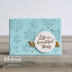 The Stamping Blok: Stampin' Up! Artisan Blog Hop | Wintry Colourful Seasons