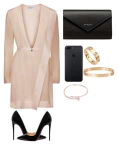 """""""Untitled #263"""" by kimmm21 on Polyvore featuring Christian Louboutin, Balenciaga and Cartier"""