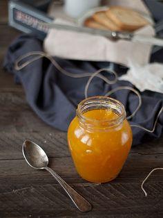 Mermelada de naranja y mango con Cointreau -