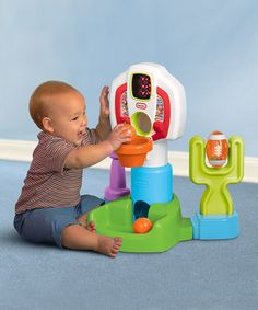Another great find on #zulily! DiscoverSounds Sports Center Toy Set by Little Tikes #zulilyfinds