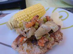 <p>Comparte+esta+receta…+Ingredientes:+Para+6+personas+2+y+1/2+Kg.+de+trucha,+salmón+o+pejerrey+1+cabeza+de+coliflor+4+cebollas+grandes+5+zanahorias+1/2+taza+de+arvejas+(guisantes)+250+gr.+de+vainitas+(judías+verdes)+1+pimiento+morrón+4+hojas+de+laurel+4+ajíes+verdes+2+dientes+de+ajo+…</p>